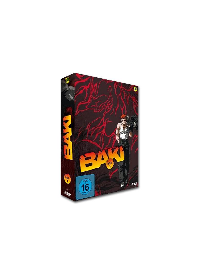 Baki Box 1 5 DVDs