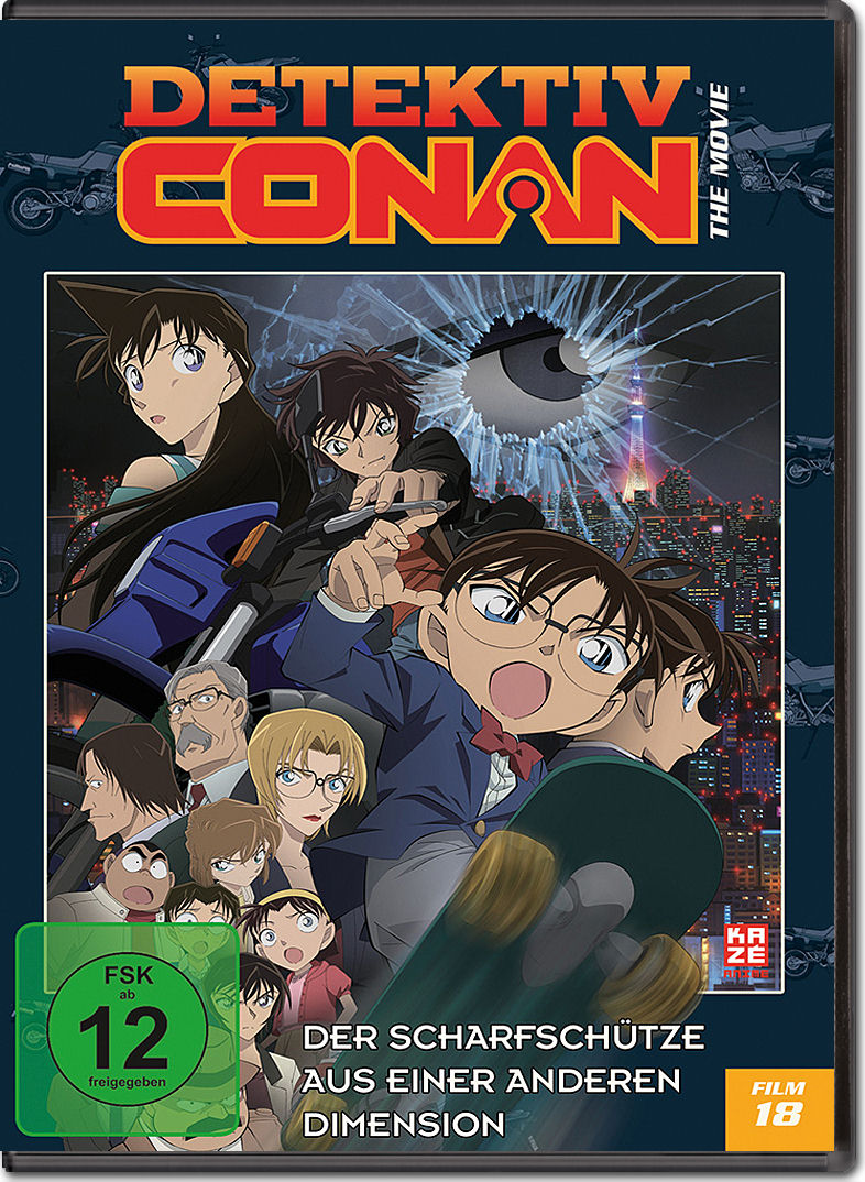 Detektiv Conan - Der 18. Film: Der Scharfschütze aus einer anderen ...