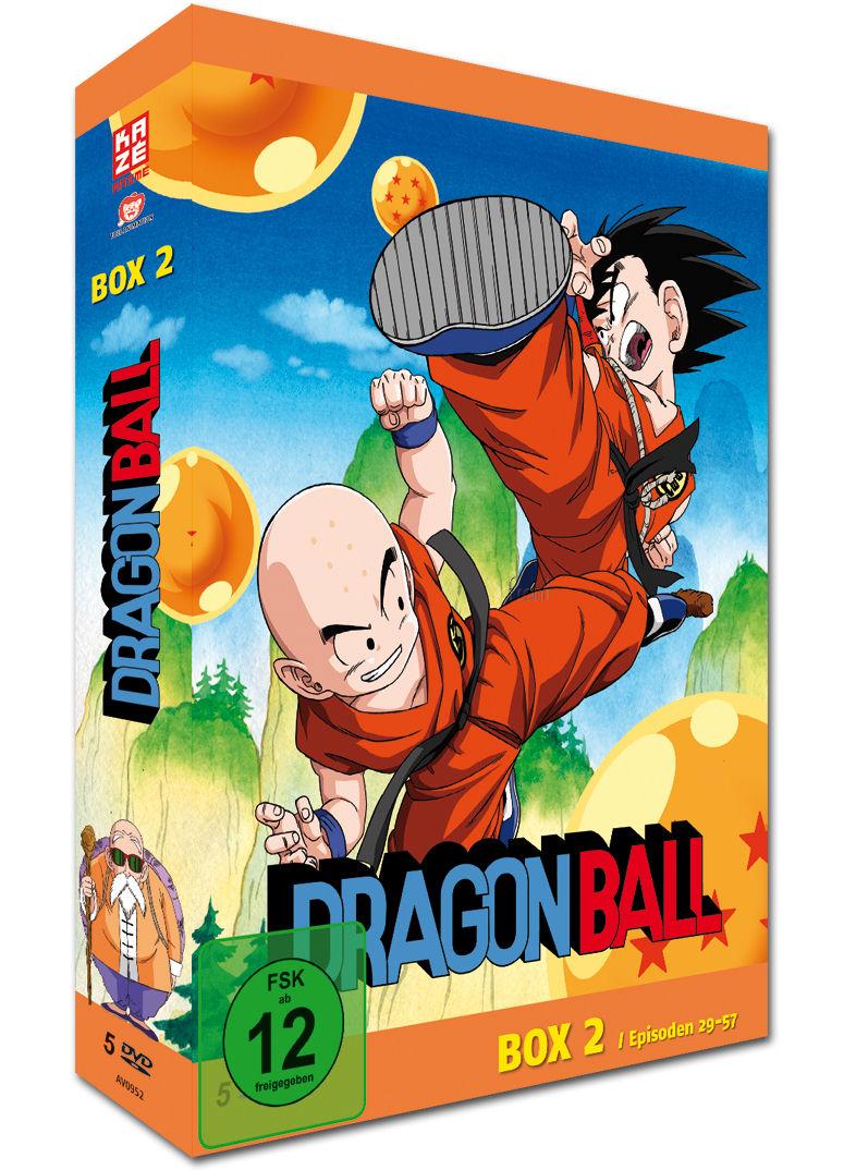 Dragonball Die Tv Serie Box 2 5 Dvds Anime Dvd World Of Games