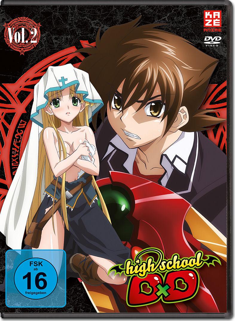 HighSchool DxD Vol. 2 [Anime DVD] • World of Games