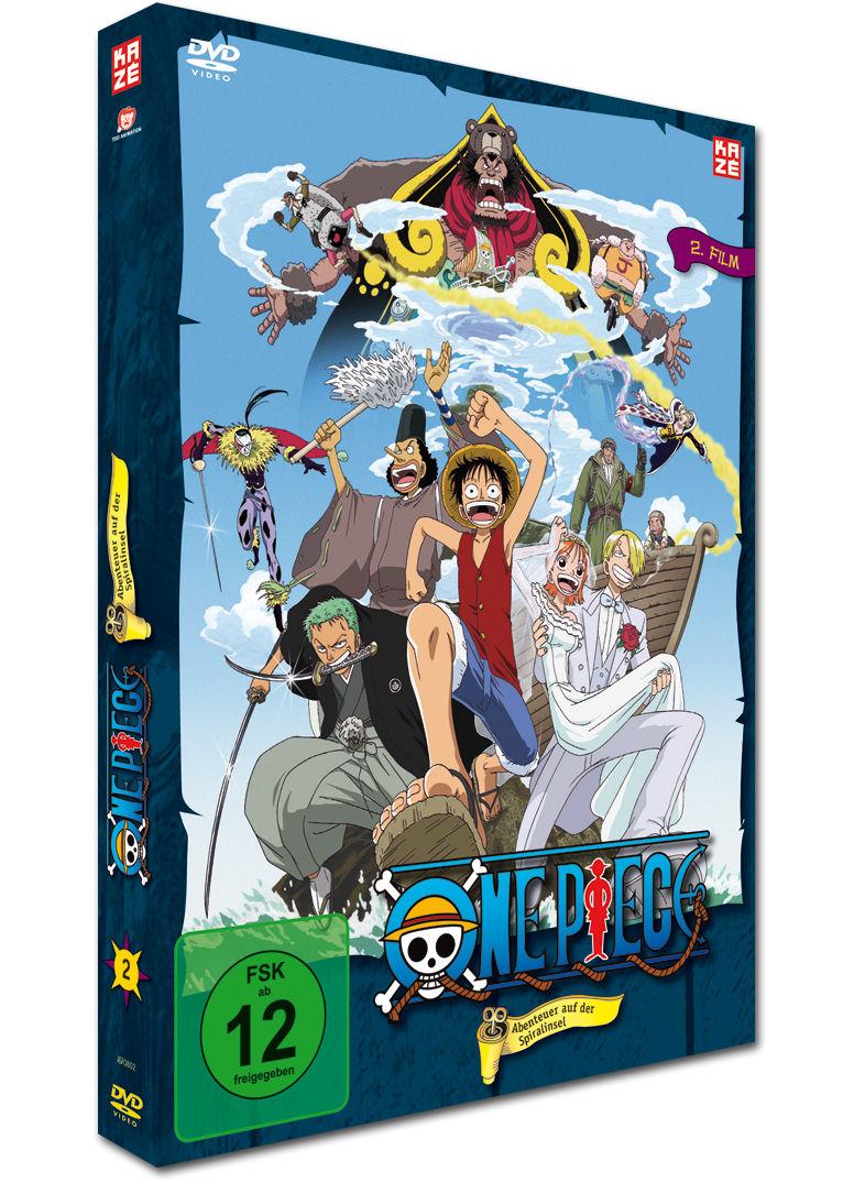 One Piece – Abenteuer Auf Der Spiralinsel!