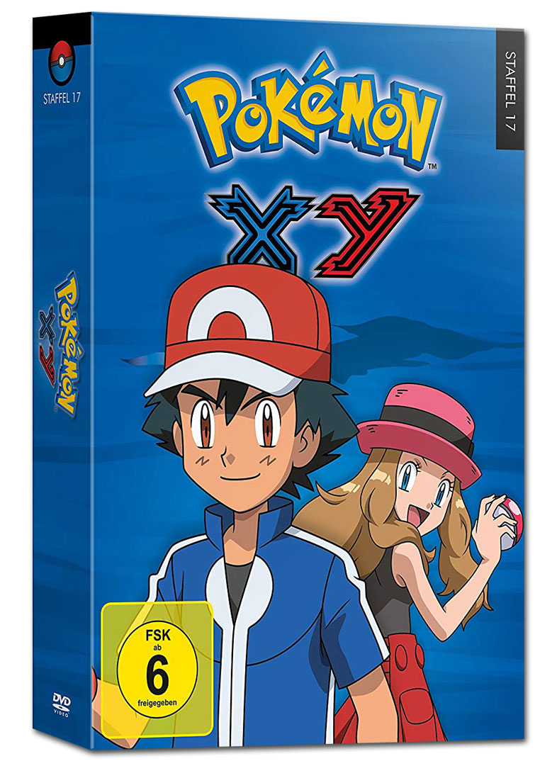 Pokemon Staffel 17 Xy 6 Dvds Anime Dvd World Of Games