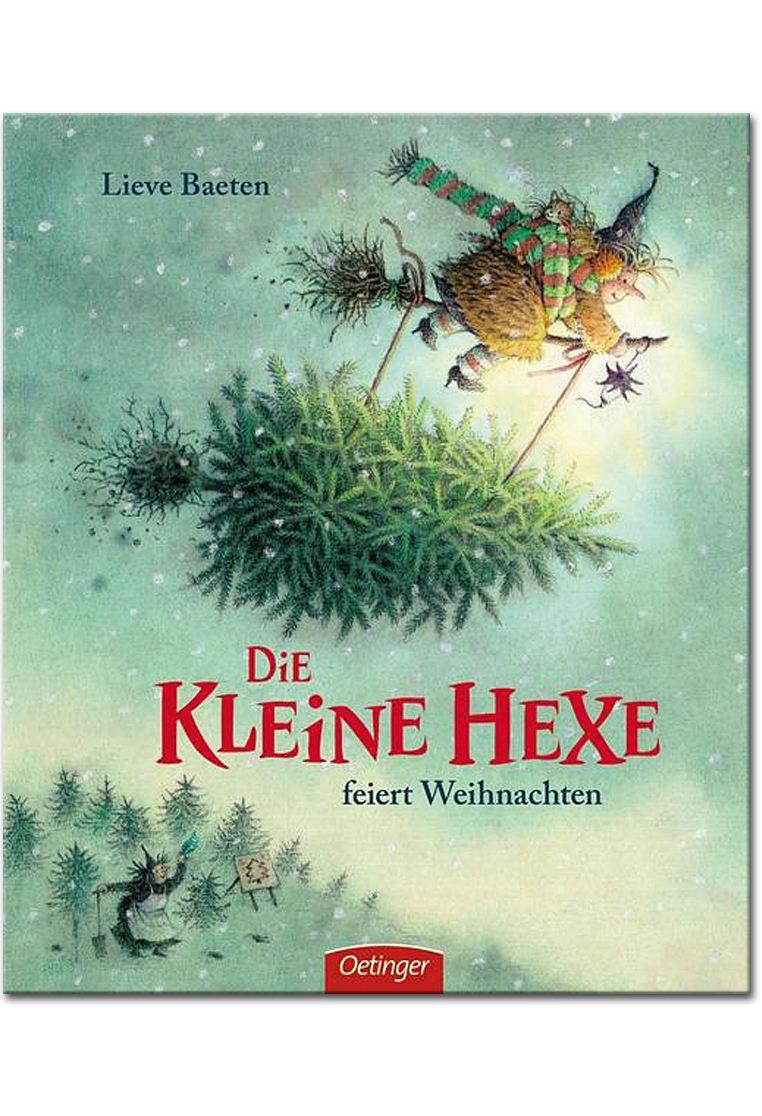 Kinderbücher Weihnachten.Die Kleine Hexe Feiert Weihnachten