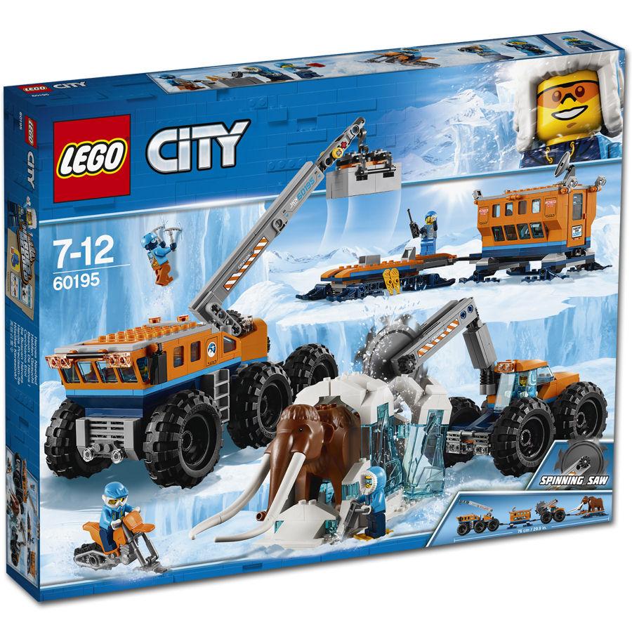 LEGO® City Mobile Arktis-Forschungsstation 60195
