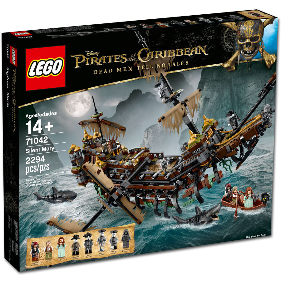 Lego Disney Pirates Of The Caribbean Silent Mary 71042 Lego