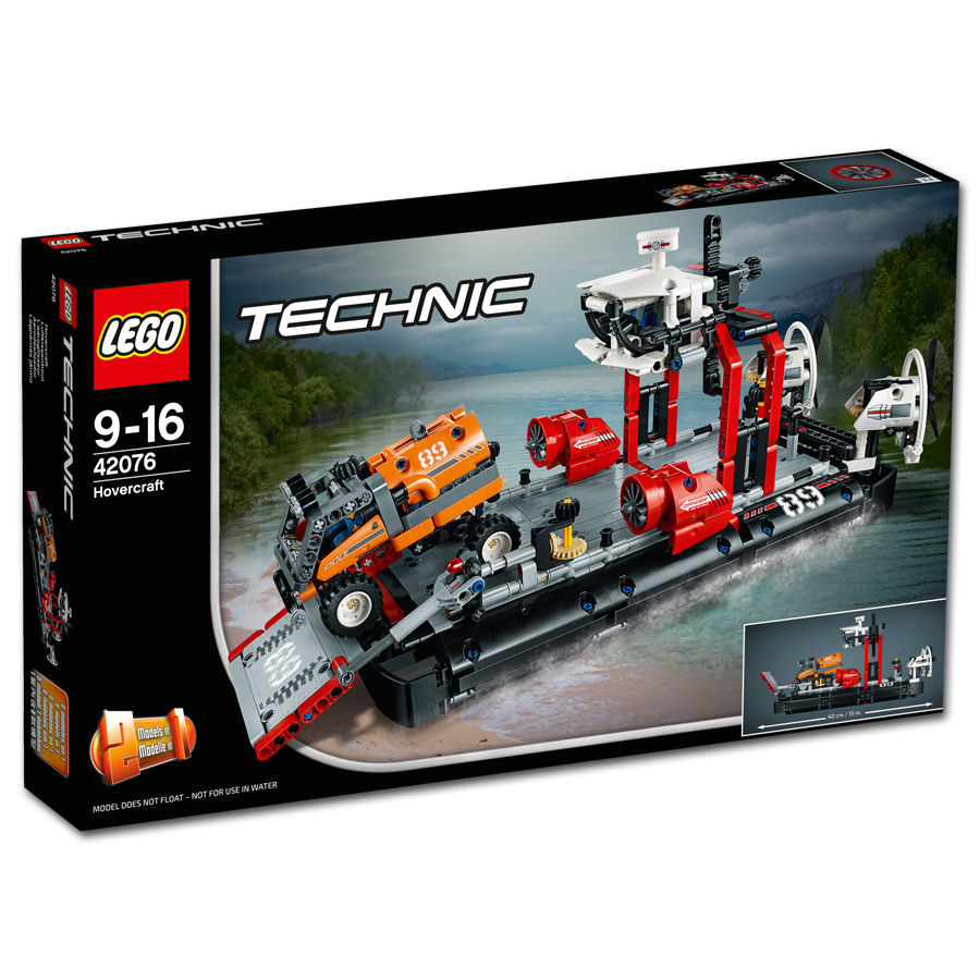 lego technic luftkissenboot 42076 lego world of games. Black Bedroom Furniture Sets. Home Design Ideas