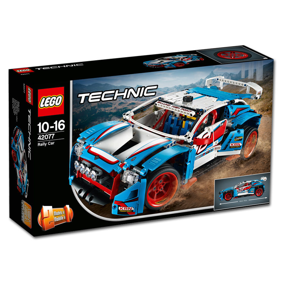 lego technic rallyeauto 42077 lego world of games. Black Bedroom Furniture Sets. Home Design Ideas