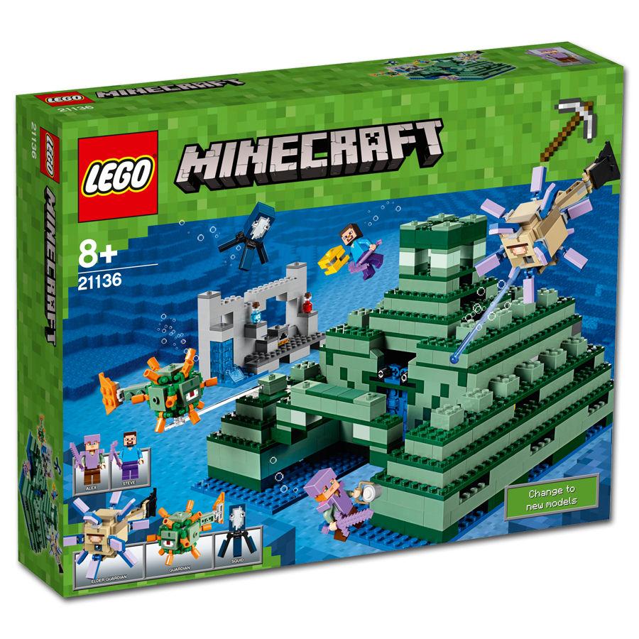 LEGO Minecraft: Das Ozeanmonument (21136) [LEGO] • World