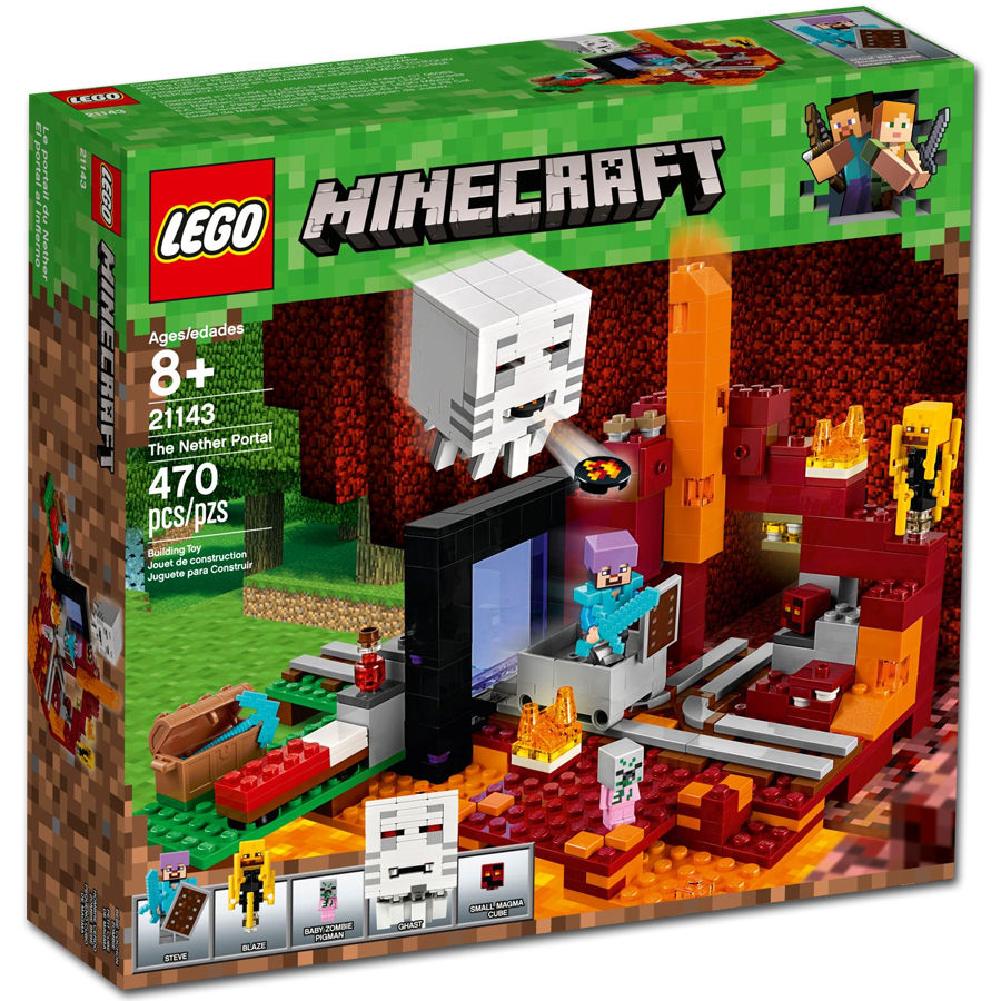 LEGO Minecraft: Netherportal (21143) [LEGO] • World of Games