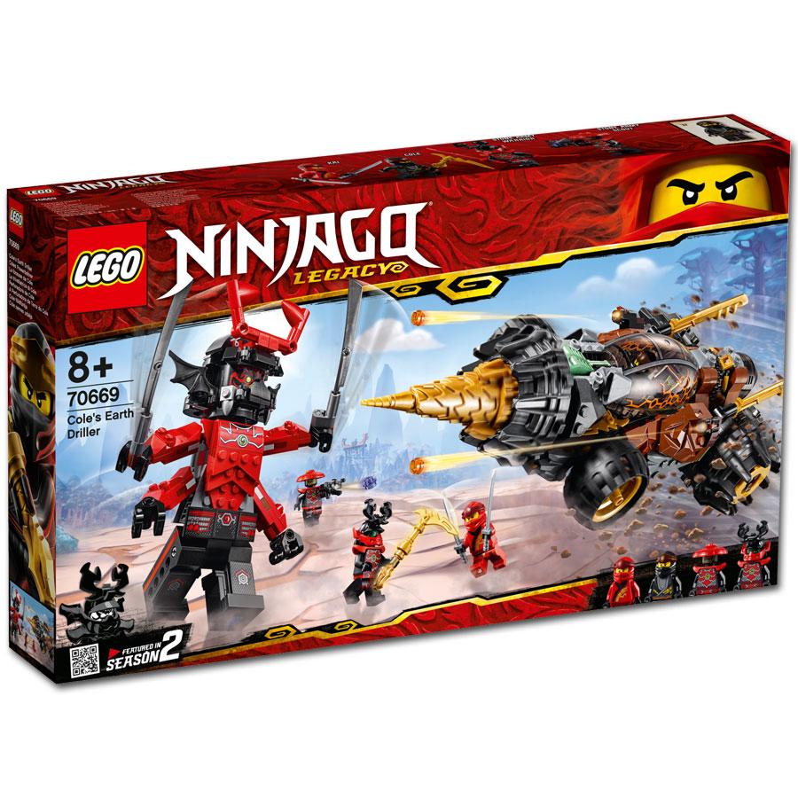 Lego Ninjago Coles Powerbohrer 70669 Lego World Of Games