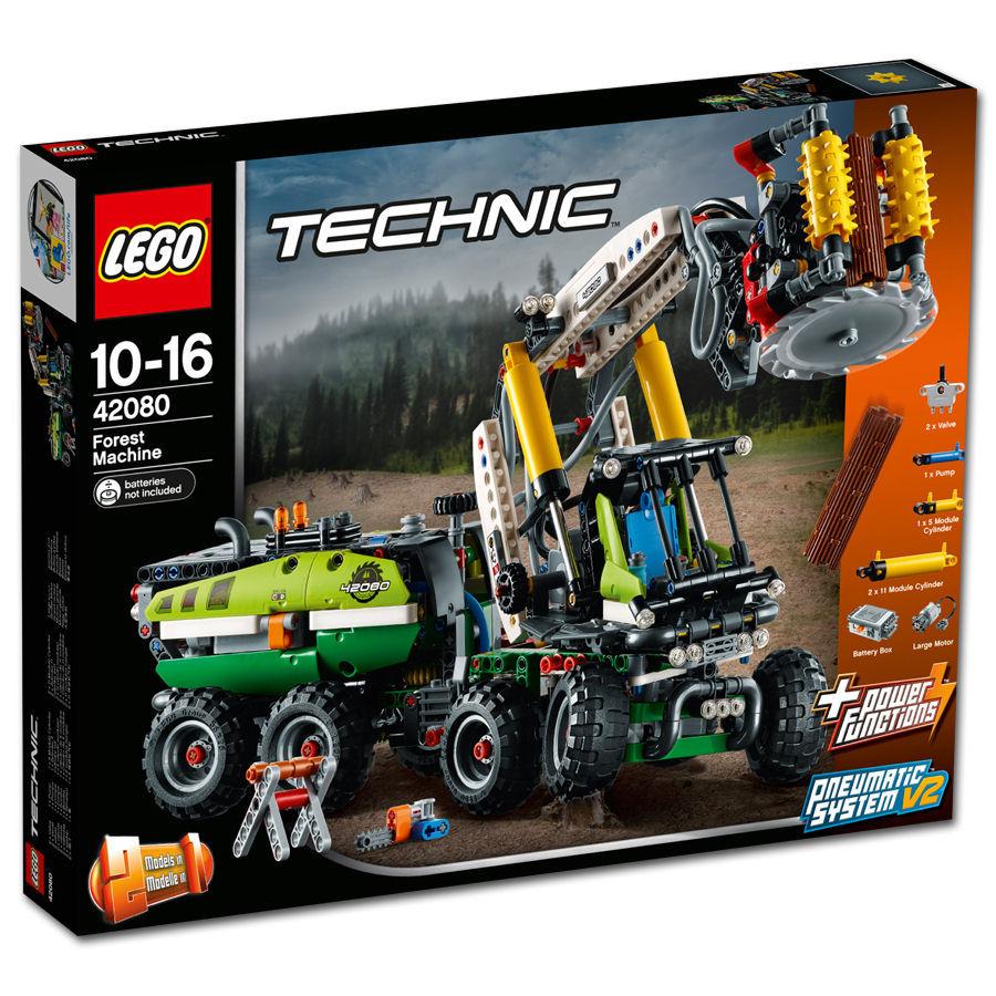 lego technic harvester forstmaschine 42080 lego. Black Bedroom Furniture Sets. Home Design Ideas