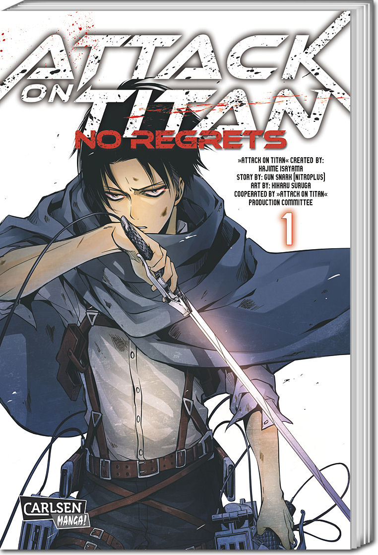 Attack on Titan: No Regrets 01 Manga • World of Games