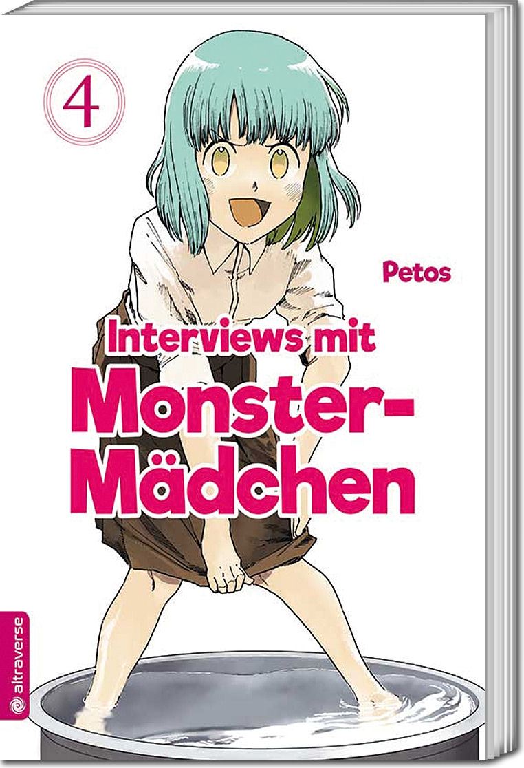 Interviews mit Monster-Mädchen, Band 04 [Manga] • World of Games