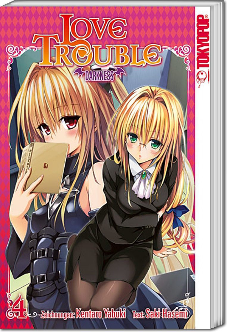 love trouble darkness band 04 manga world of games. Black Bedroom Furniture Sets. Home Design Ideas