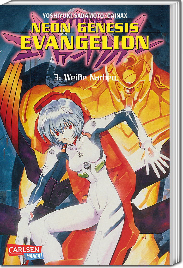 Neon Genesis Evangelion Band 03