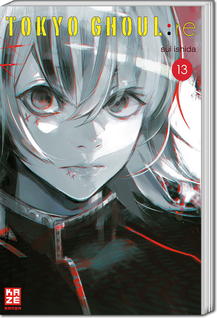 Tokyo Ghoulre 13 Manga O World Of Games
