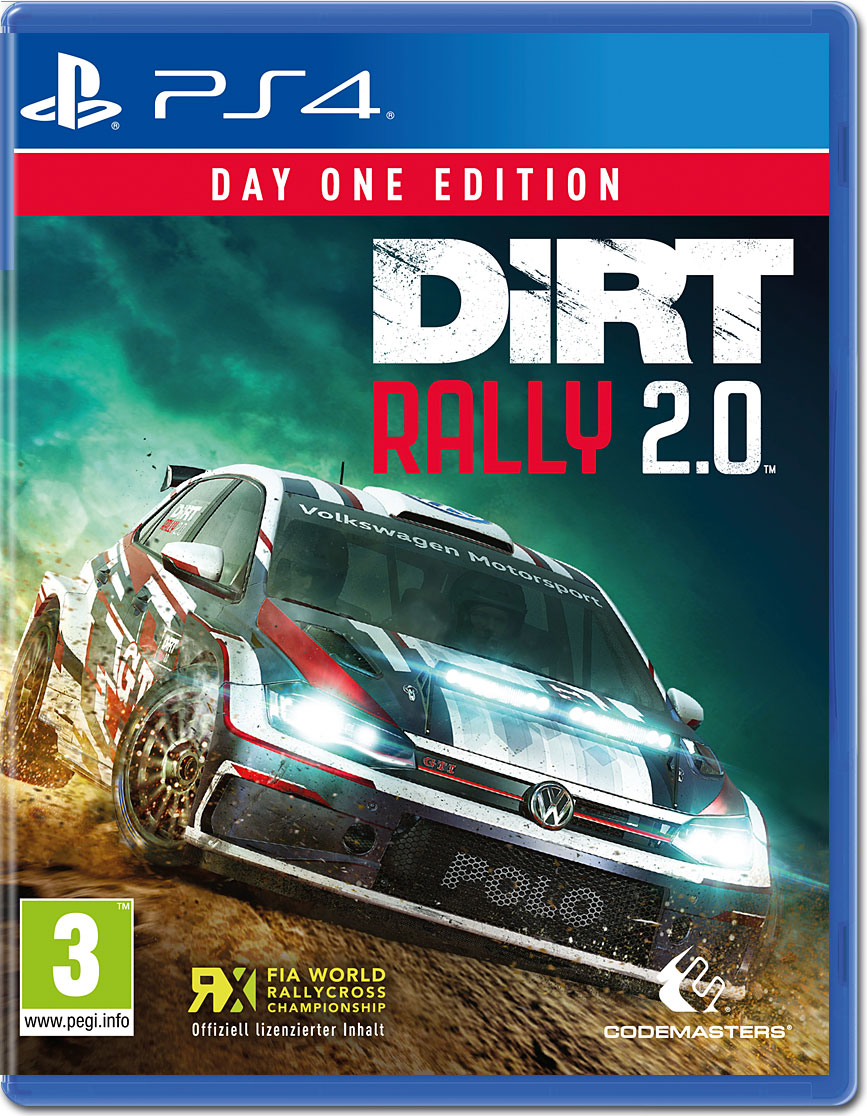 Dirt Rally 20 Day 1 Edition Playstation 4 World Of Games Sony Ps4 Wrc 6 Fia Championship