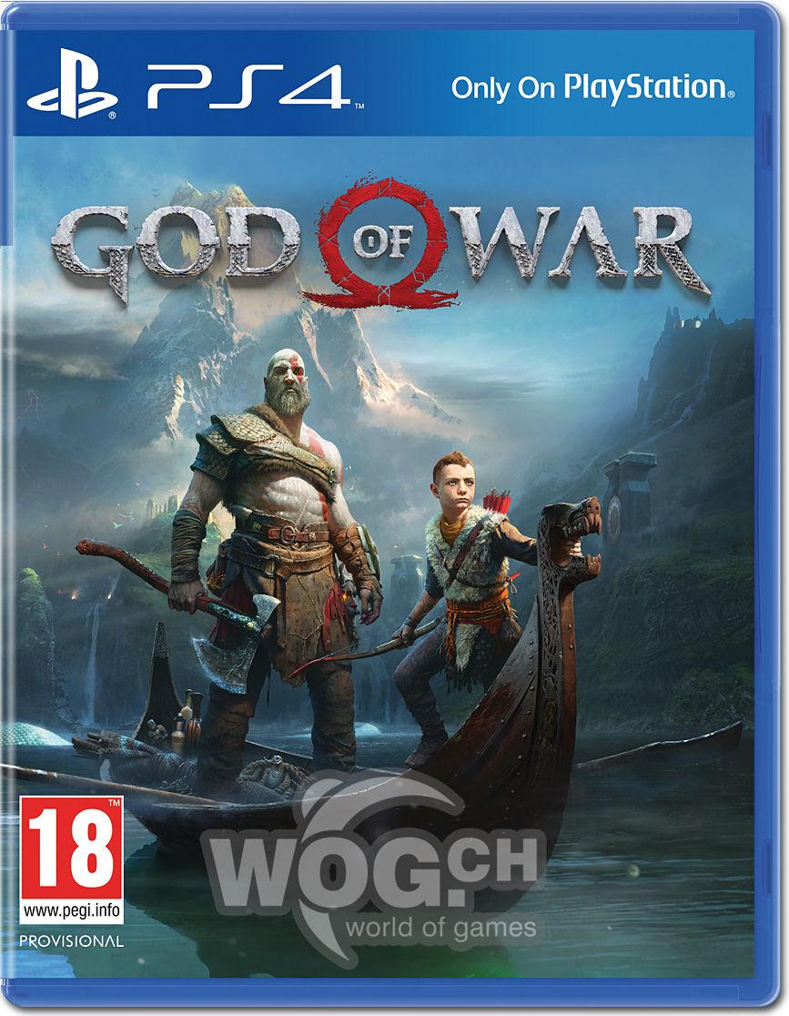 God of War (2018) [Playstation 4] • World of Games
