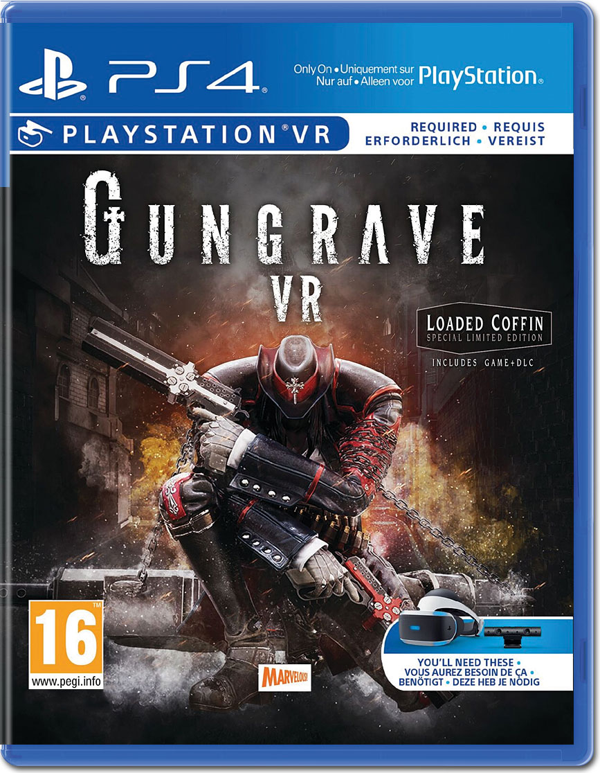 Gungrave Vr Loaded Coffin Edition Playstation 4 World Of Games