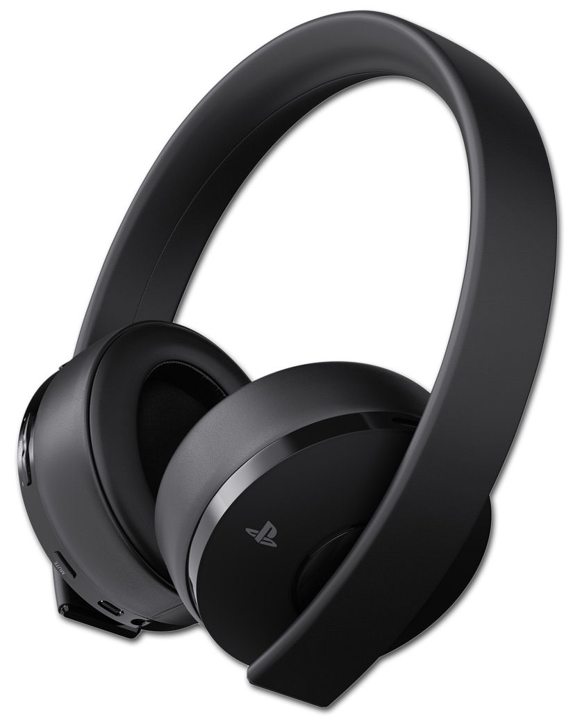 Gold Wireless Headset (Sony) [Playstation 4] • World of Games