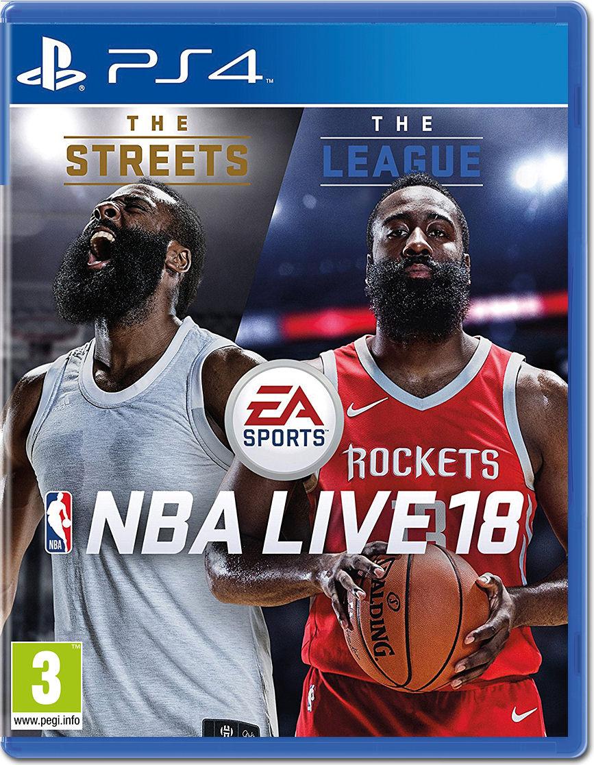 NBA Live 18 [Playstation 4] • World of Games