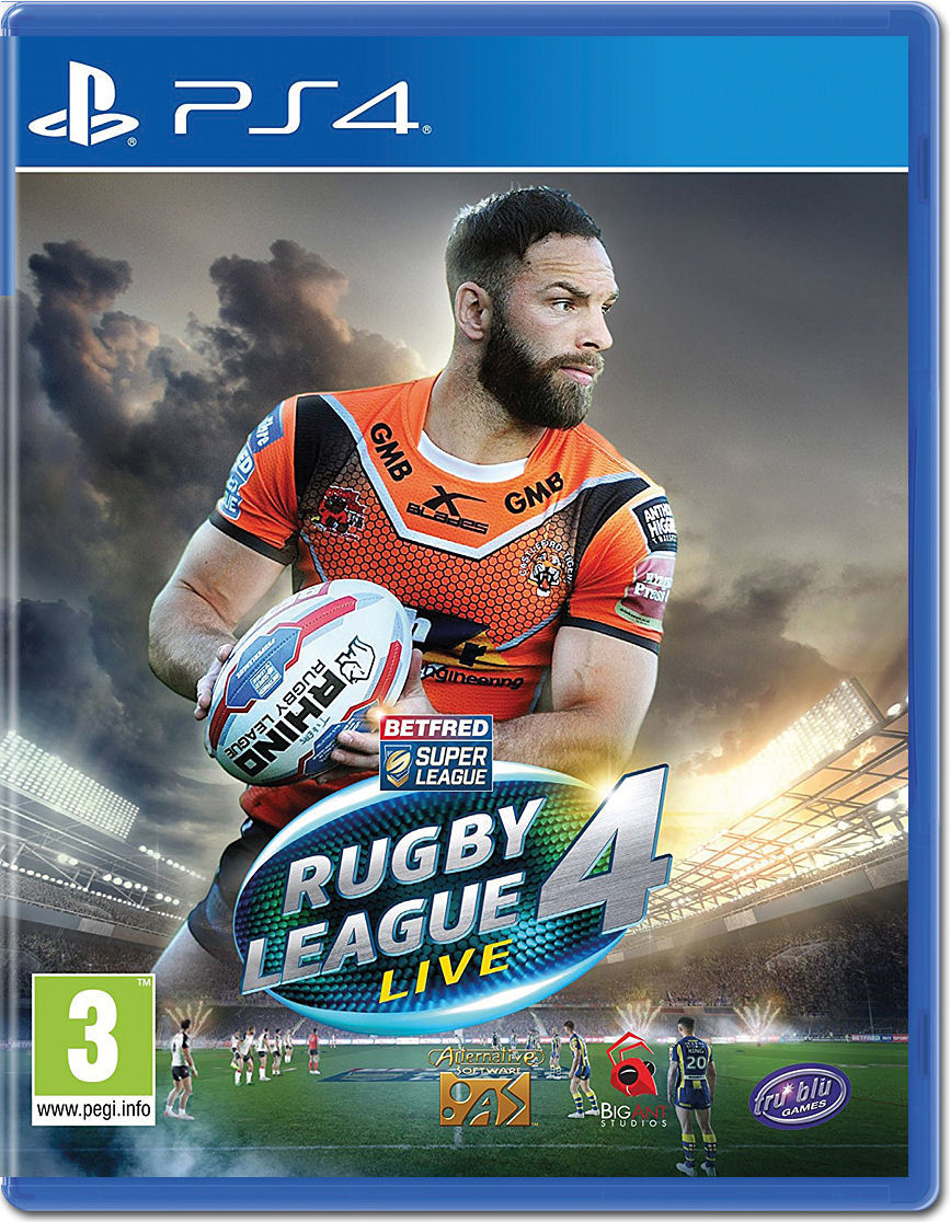 Rugby League Live 4 E Playstation 4 U2022 World Of Games