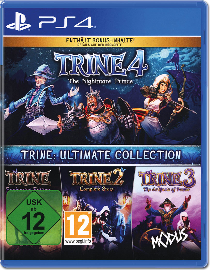 Ultimate Collection Jpg: Trine: Ultimate Collection [Playstation 4] • World Of Games