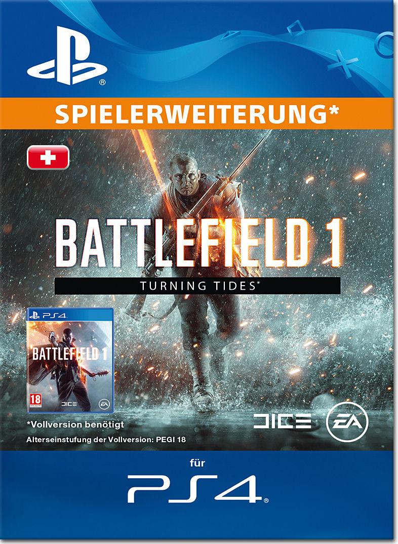 Battlefield 1 Dlc 3 Turning Tides Playstation 4 Digital World Game Ps4