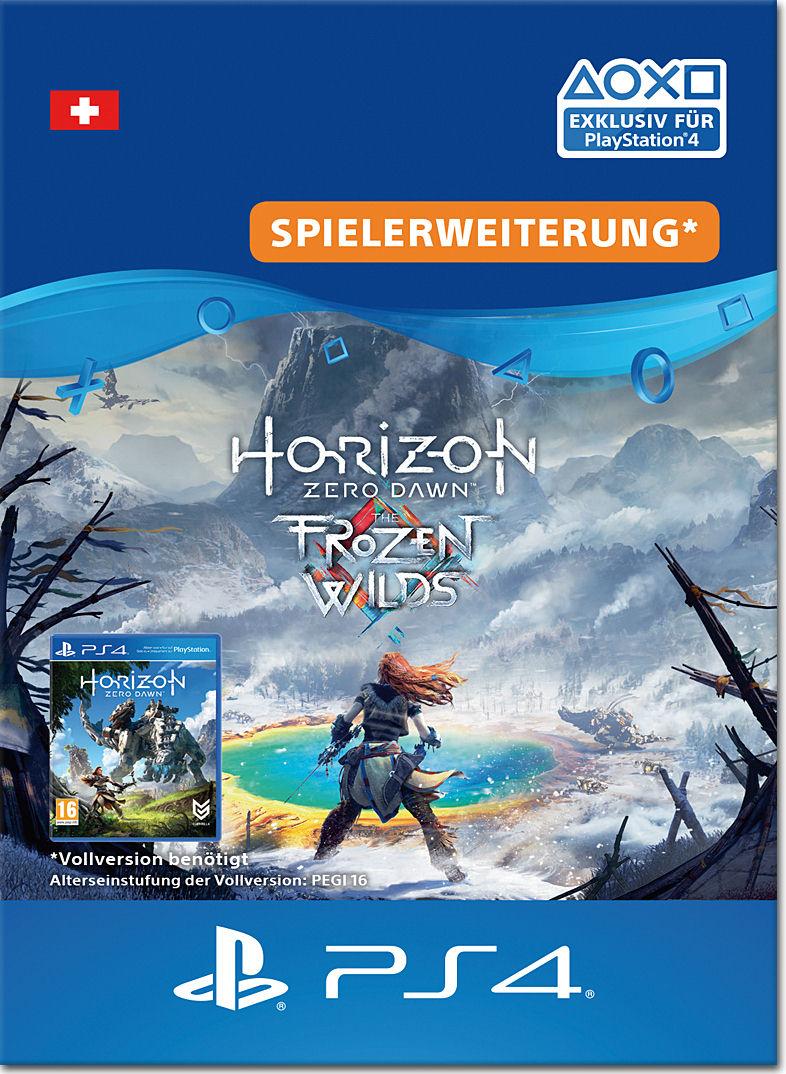 Horizon Zero Dawn The Frozen Wilds Playstation 4 Digital Sony Reg 3