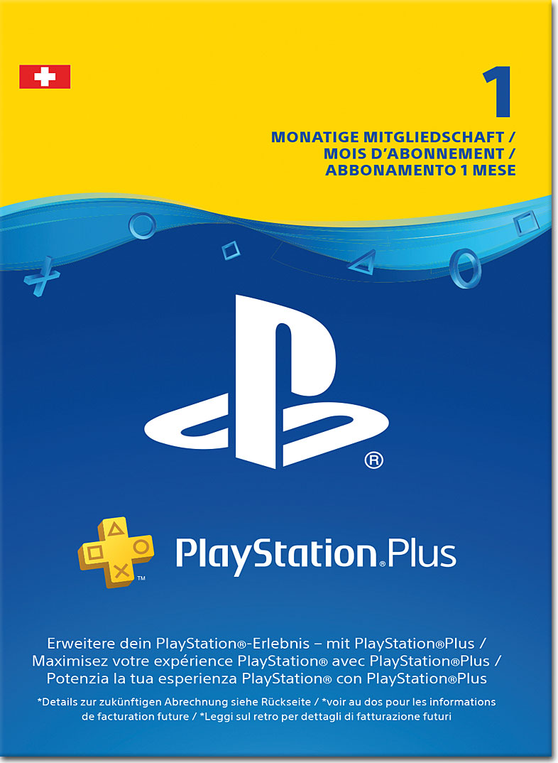 playstation plus abonnement 1 monat playstation 4 digital world of games. Black Bedroom Furniture Sets. Home Design Ideas