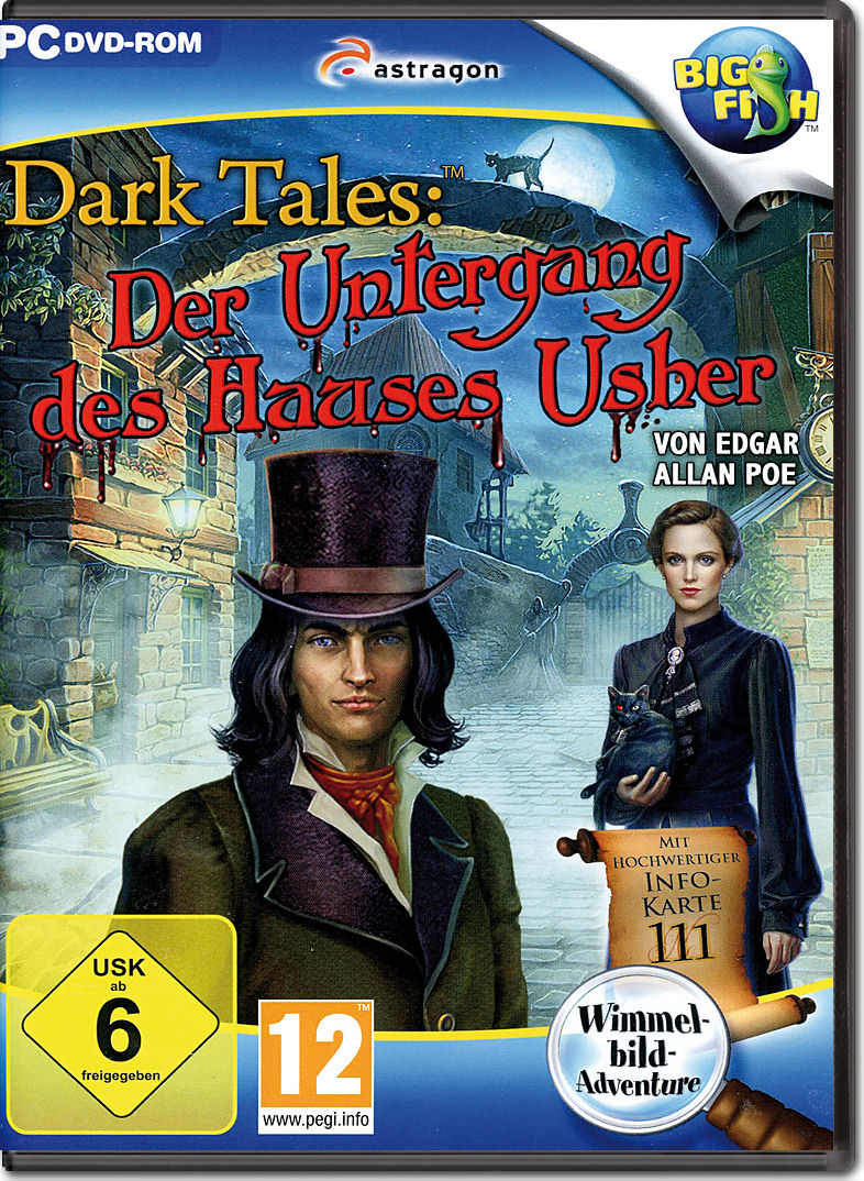 Dark Tales Der Untergang des Hauses Usher [PC Games