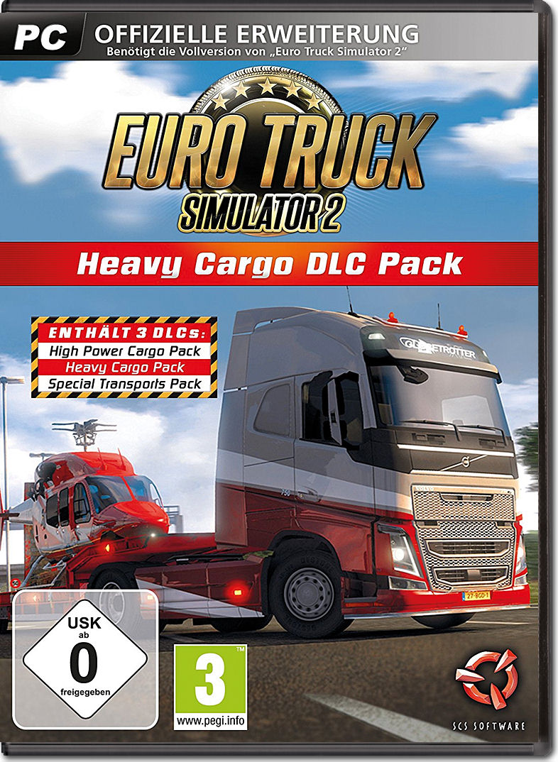 Euro Truck Simulator 2 Heavy Cargo Dlc Pack Pc Games
