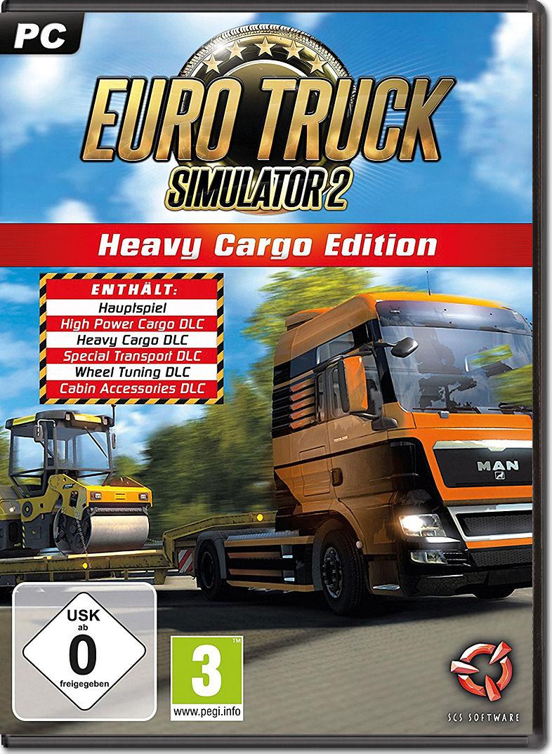 Euro Truck Simulator 2 Heavy Cargo Edition Pc Games