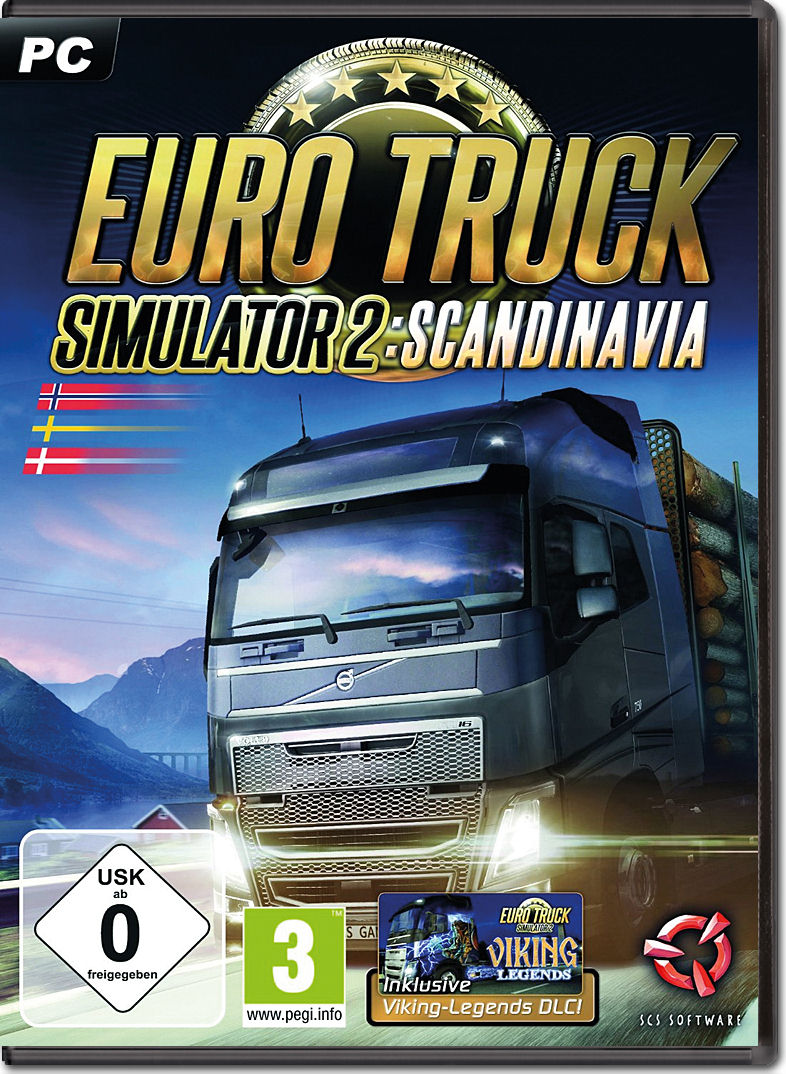 euro truck simulator 2 scandinavia pc games world of games. Black Bedroom Furniture Sets. Home Design Ideas