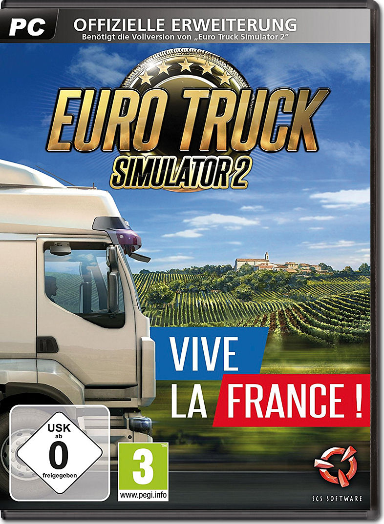 euro truck simulator 2 vive la france pc games world. Black Bedroom Furniture Sets. Home Design Ideas