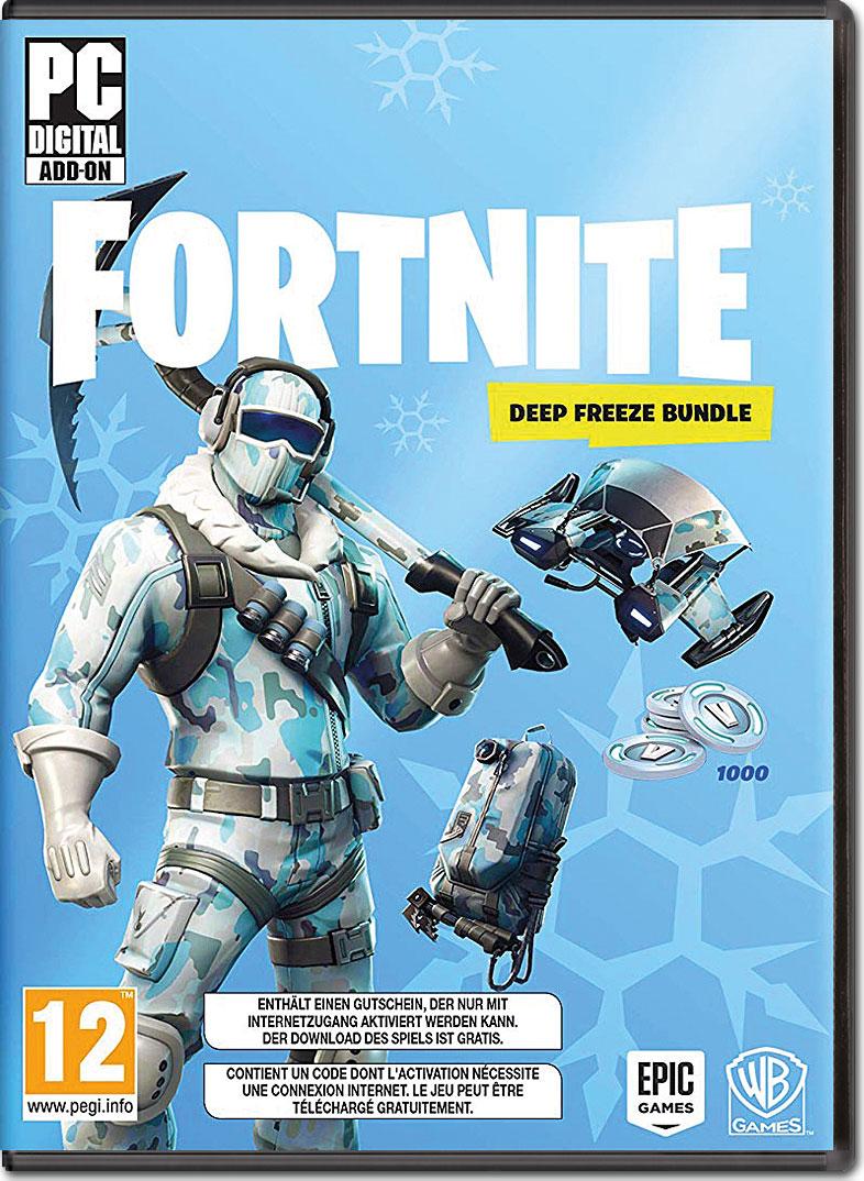 Fortnite Deep Freeze Bundle Code In A Box Pc Games World Of