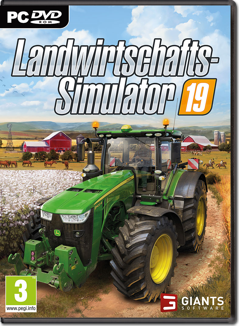 landwirtschafts simulator 19 pc games world of games. Black Bedroom Furniture Sets. Home Design Ideas