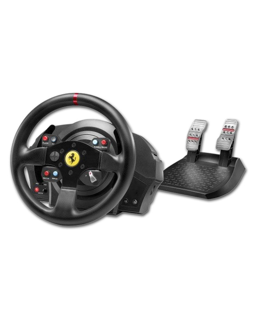 t300 ferrari gte wheel thrustmaster pc games world. Black Bedroom Furniture Sets. Home Design Ideas