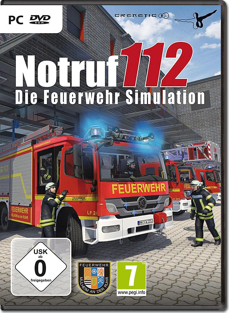 notruf 112 die feuerwehr simulation pc games world of. Black Bedroom Furniture Sets. Home Design Ideas