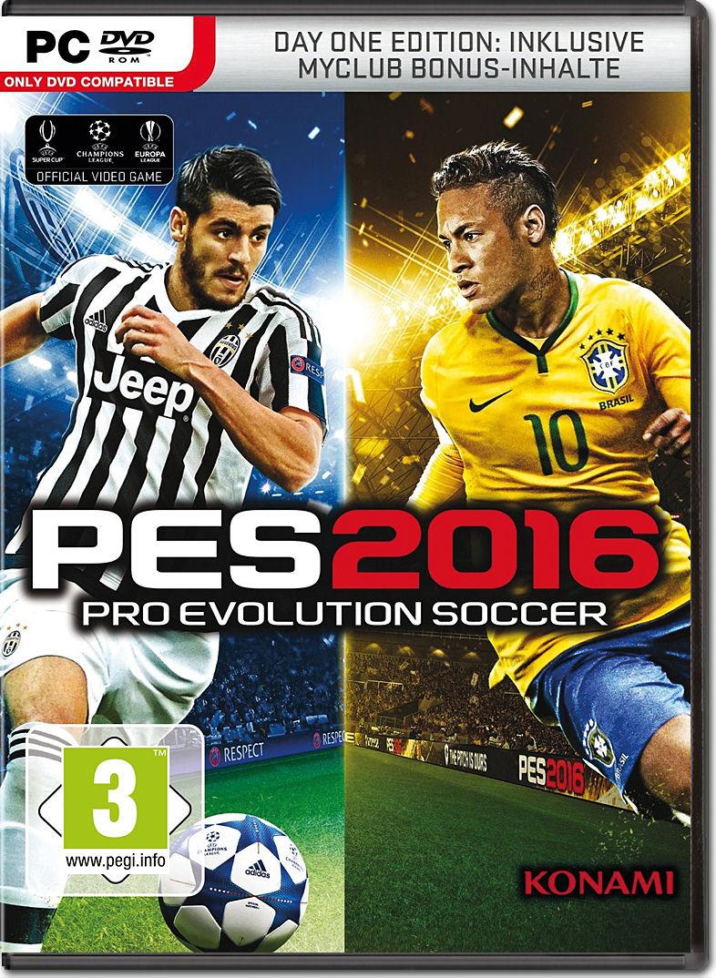 Pes 2016 Pro Evolution Soccer Day 1 Edition Pc Games World Dvd Rom 2018 Premium