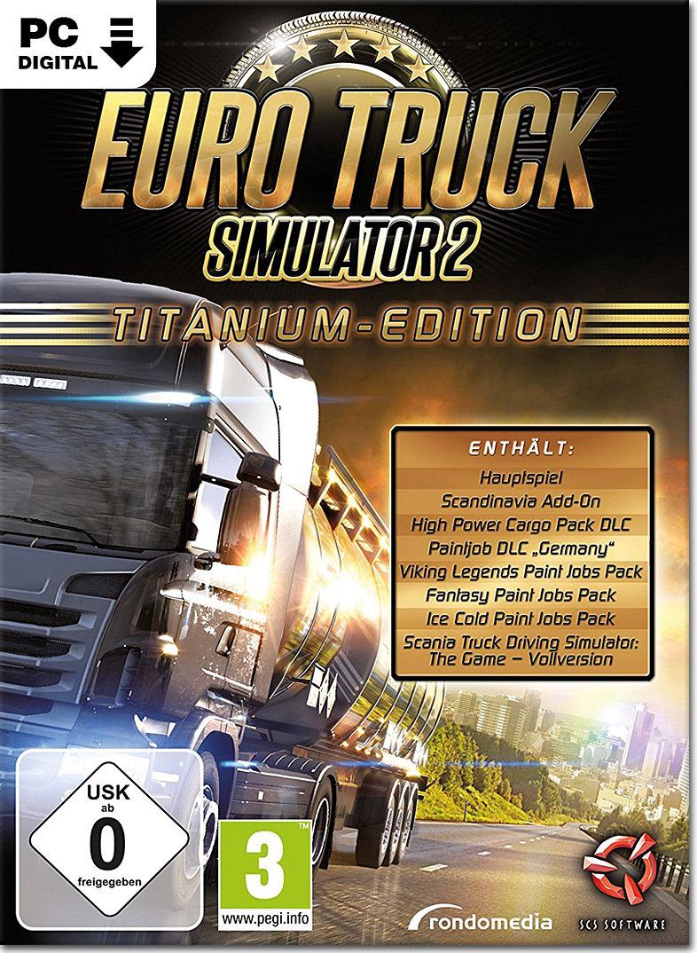 euro truck simulator 2 titanium edition pc games. Black Bedroom Furniture Sets. Home Design Ideas