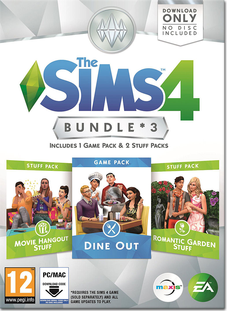 Die Sims 4 Bundle 3 Pc Games Digital World Of Games