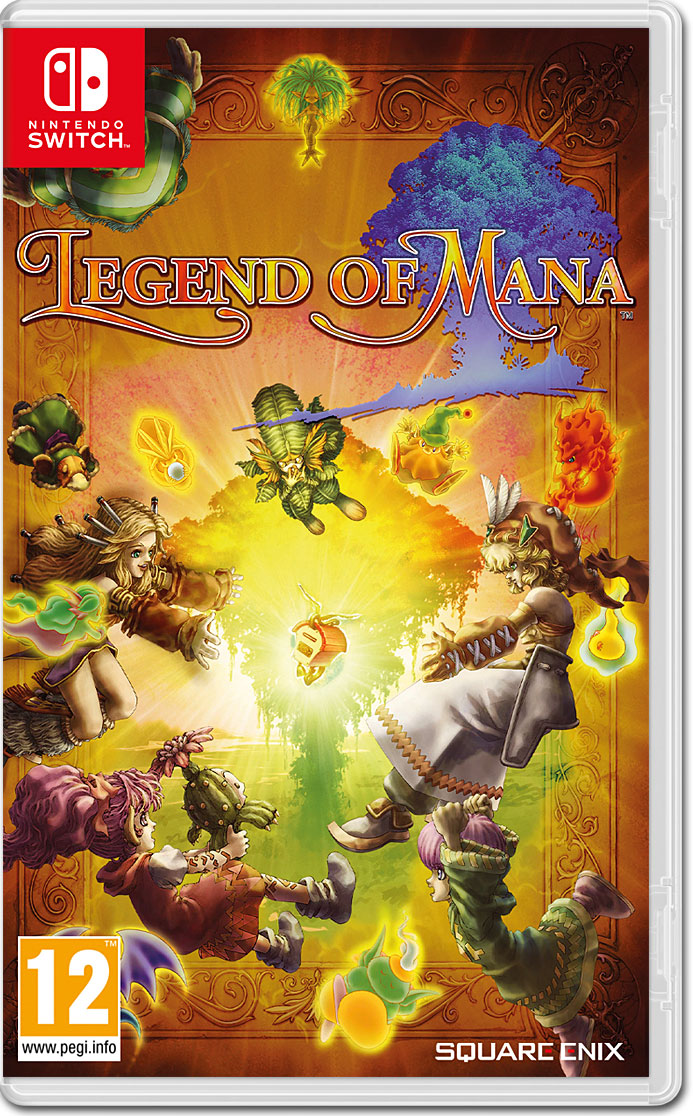 Legend of Mana Remastered [Nintendo Switch] • World of Games