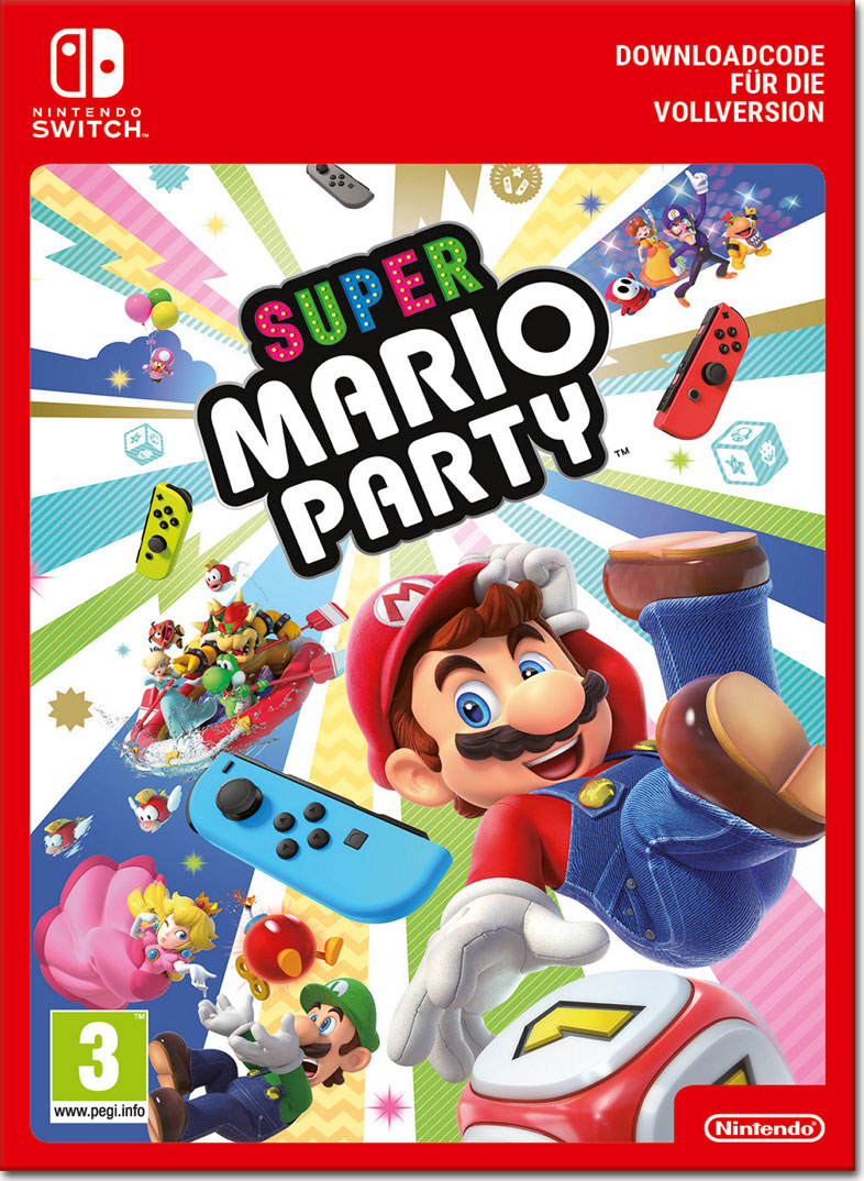 Super Mario Party [Switch-Digital] • World of Games