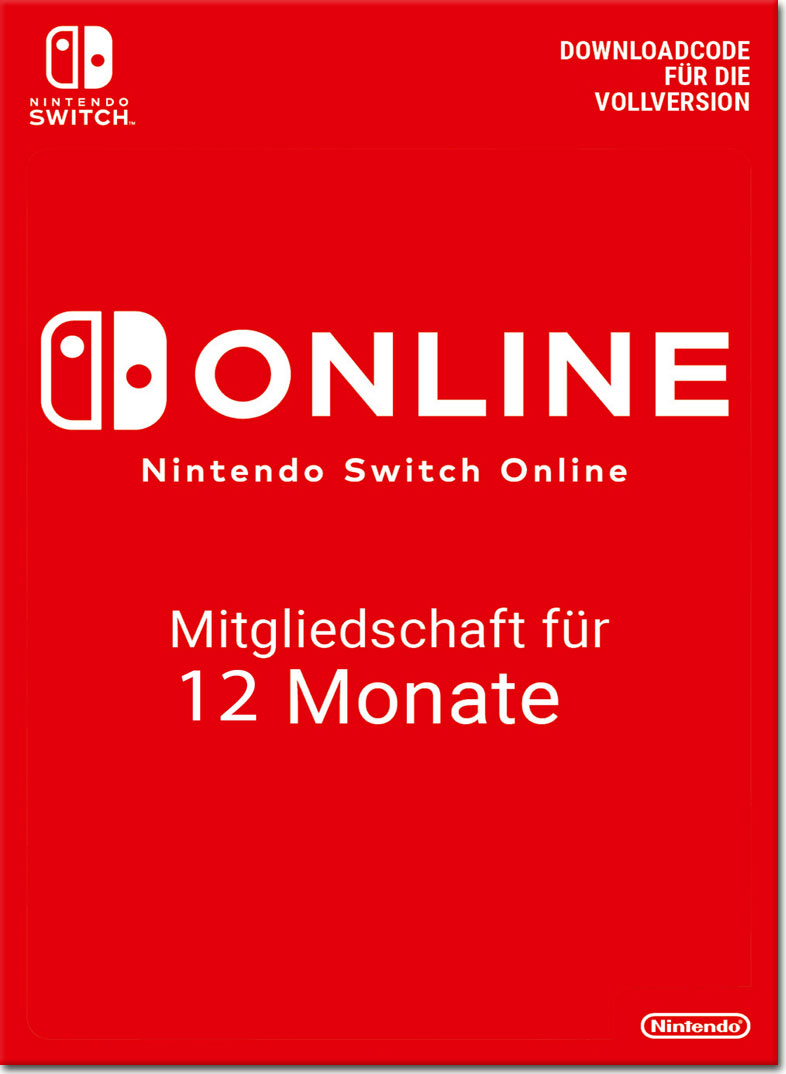 Nintendo Switch Online - Membership 12 Monate
