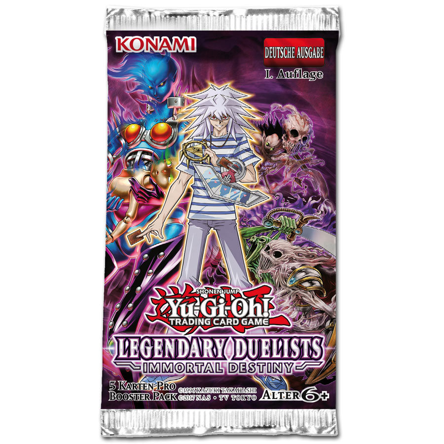 Yu Gi Oh Legendary Duelists Immortal Destiny Booster