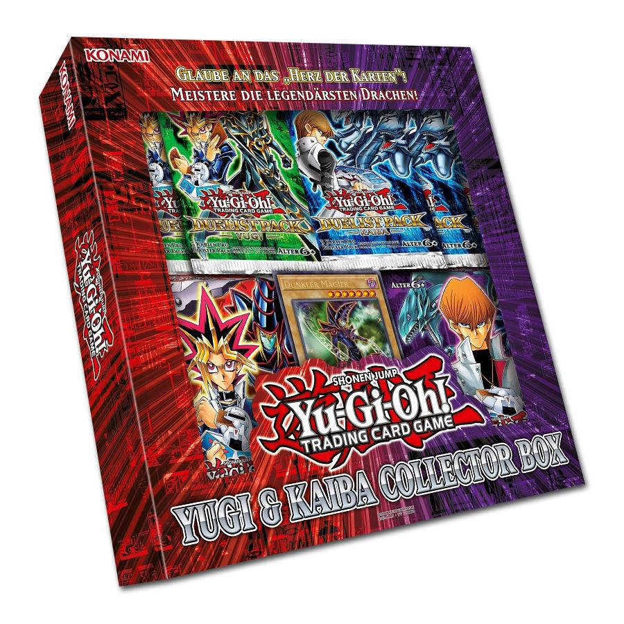 Yu-Gi-Oh! Yugi & Kaiba Collector Box [Trading Cards] • World of Games