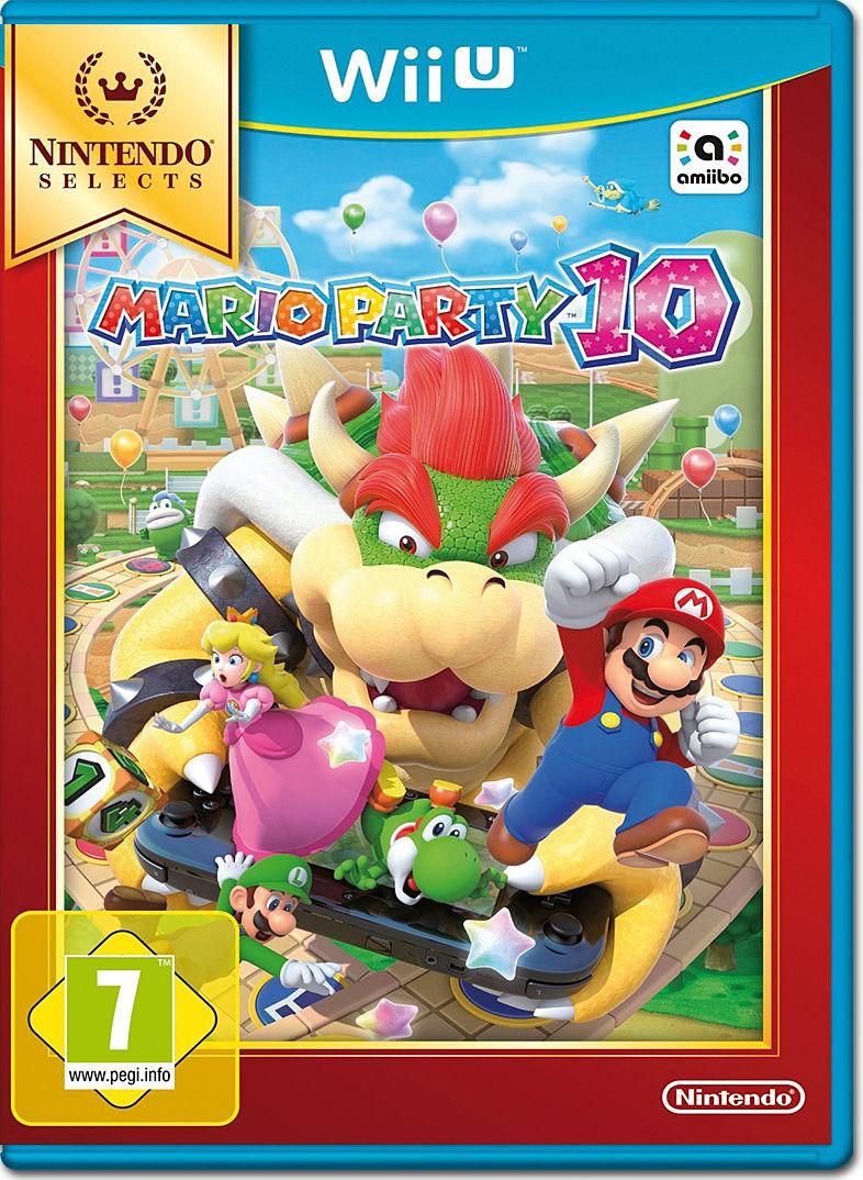 Nintendo Mario Party 10 W Amiibo Figure Wii U Free Shipping Pictures To Pin On Pinterest