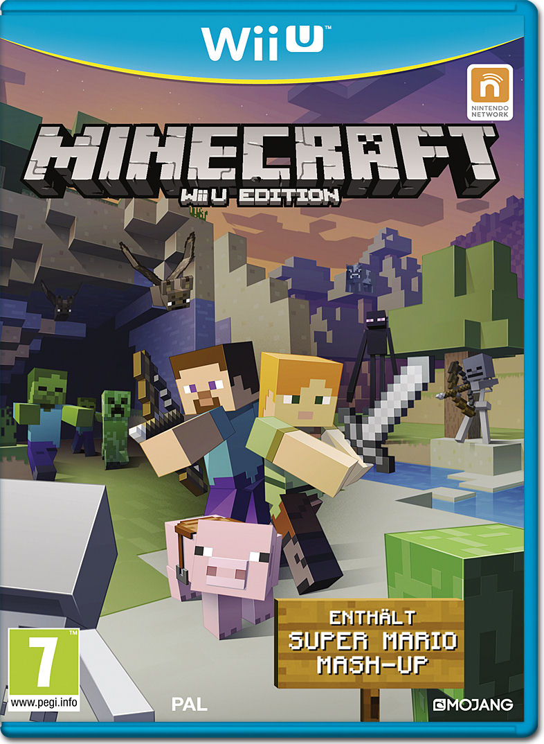 Minecraft Wii U Edition Wii U World Of Games - Minecraft spielen vollversion