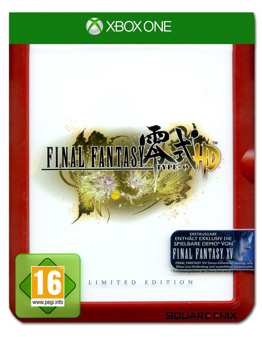 final fantasy type 0 hd steelbook edition xbox one pal sfr 72 90